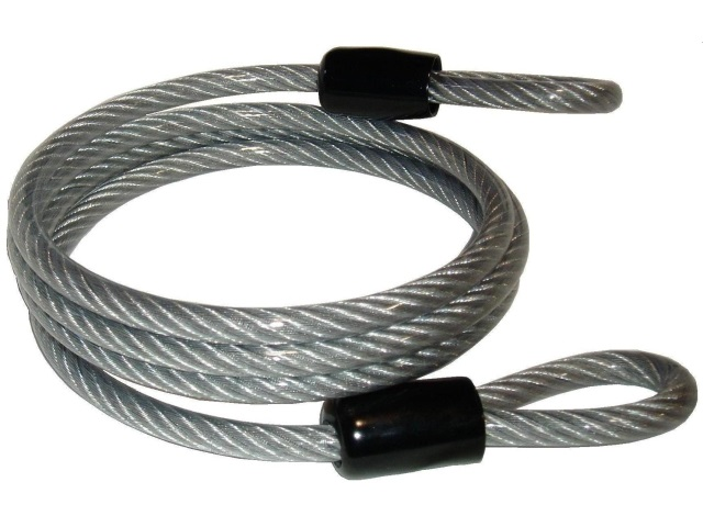 Coiled Security Cable