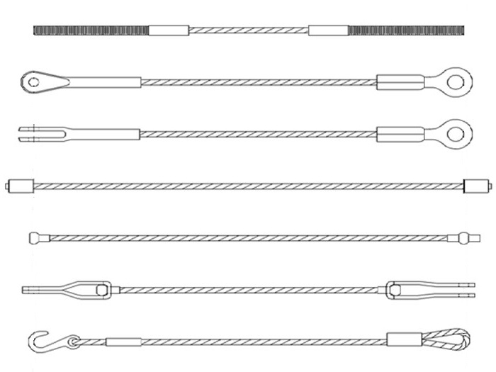 Different Types of Wire Ropes and Fittings