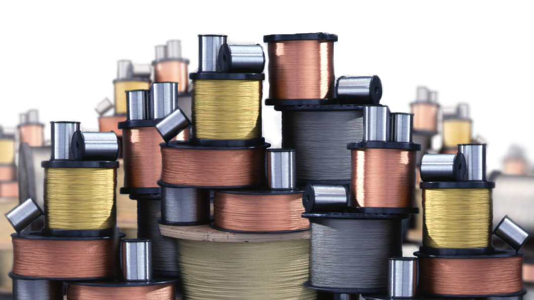 Spools of Wire Strands