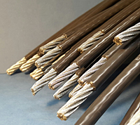 Coated Steel Cables
