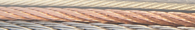 wire rope banner