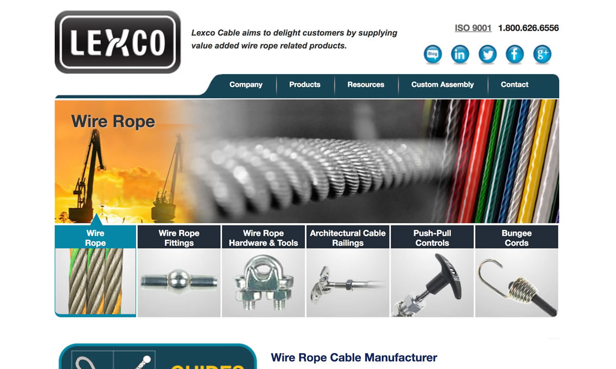 Wire Rope Manufacturers Suppliers This Pic Is From Before I Ran The Cables Lexco Cable Mfg