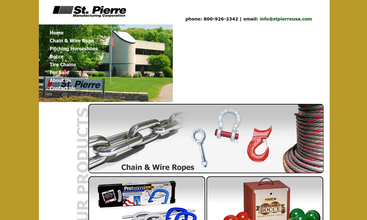 St. Pierre Manufacturing Corporation