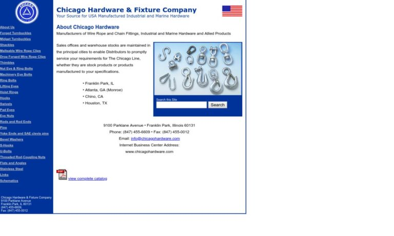 Chicago Hardware & Fixture Company