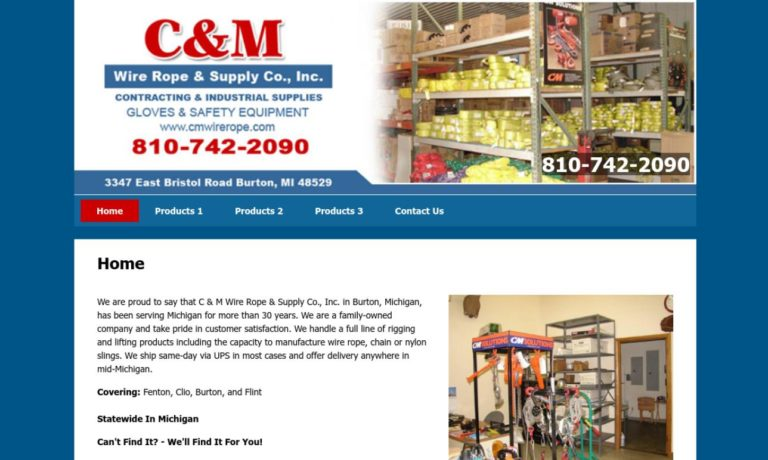 C&M Wire Rope & Supply