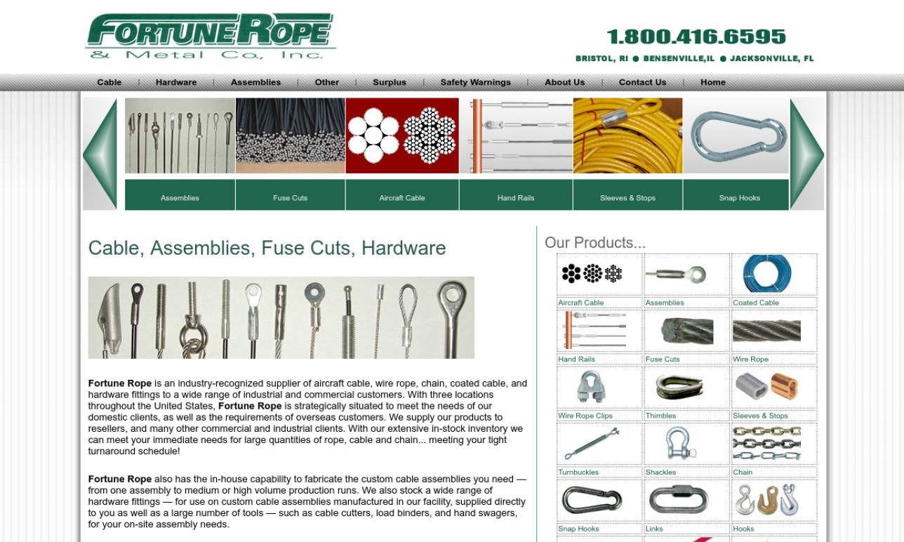 Fortune Rope & Metal Co., Inc.
