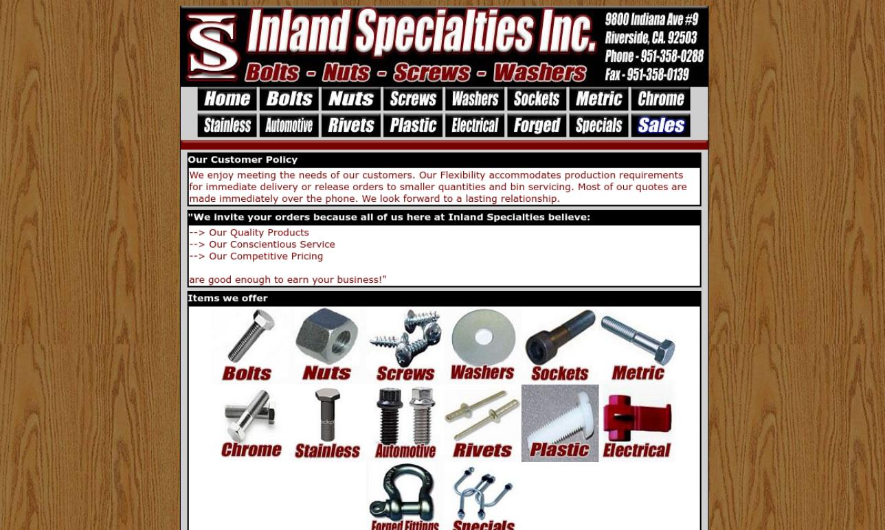 Inland Specialties
