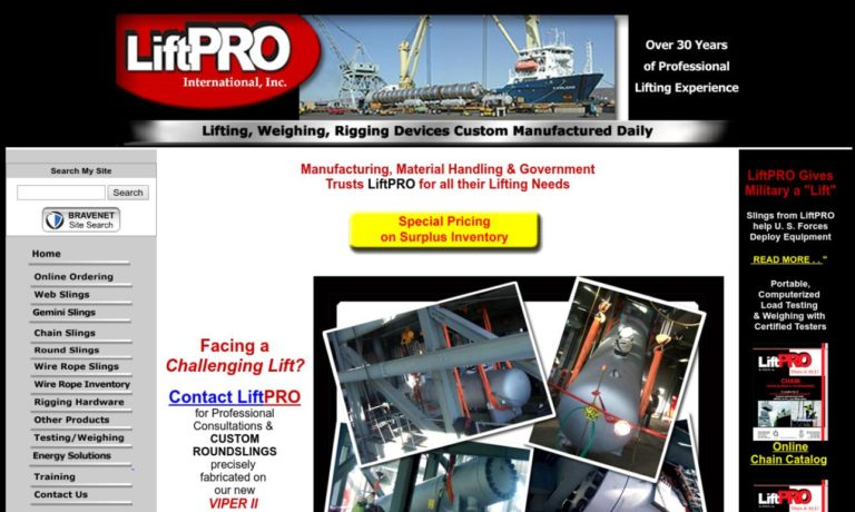 LiftPRO, International, Inc.