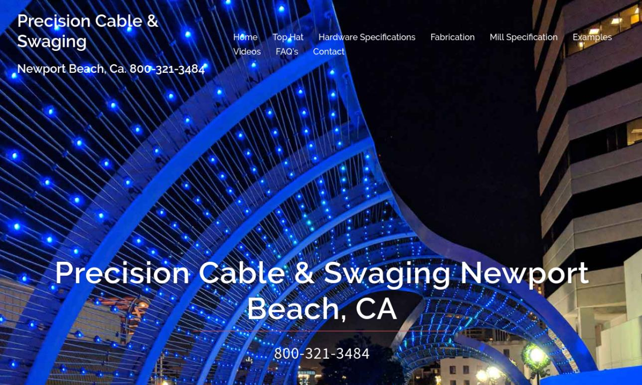 Precision Cable & Swaging