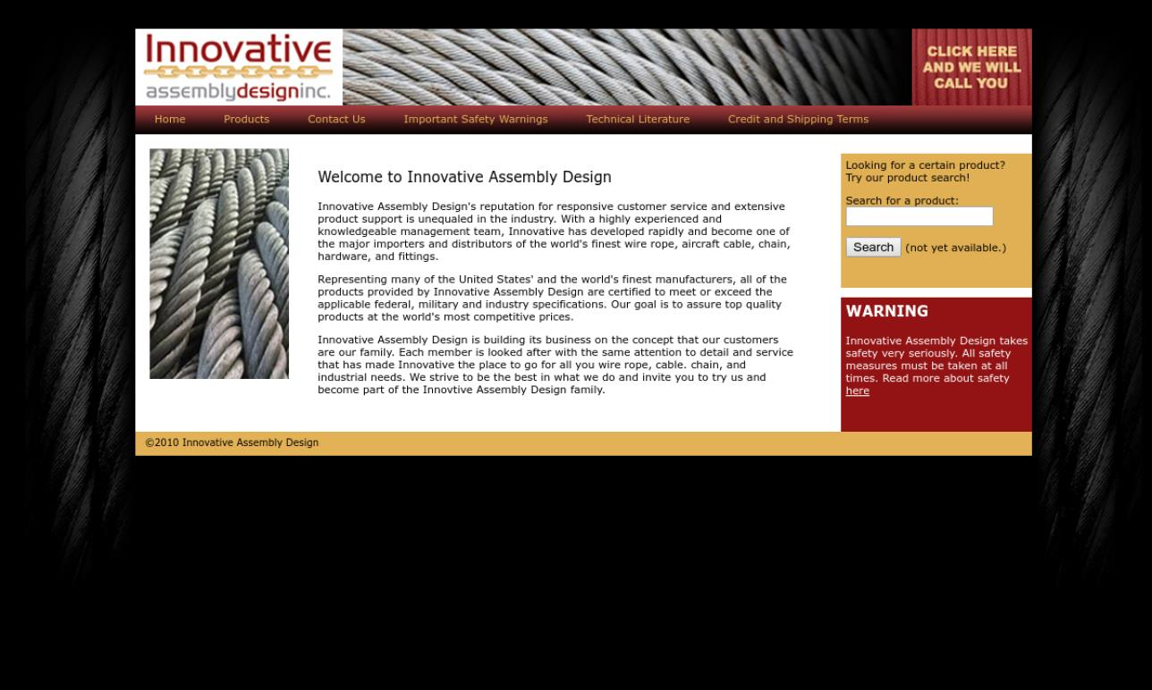 Innovative Assembly Design | Wire Rope