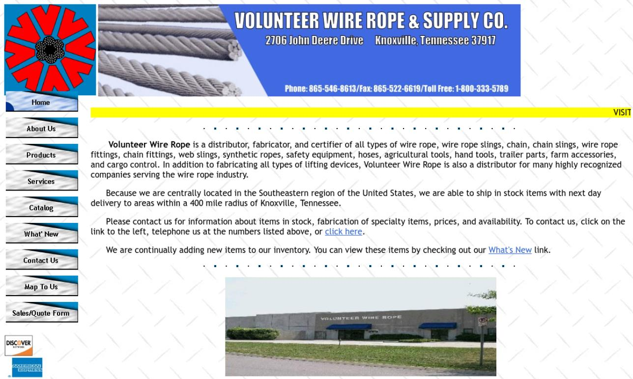 Volunteer Wire Rope & Supply Co., Inc.