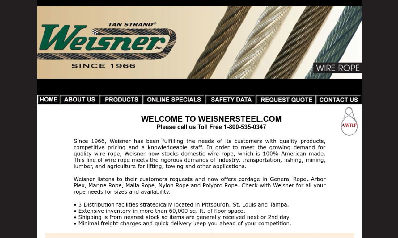 Weisner Steel Products, Inc.