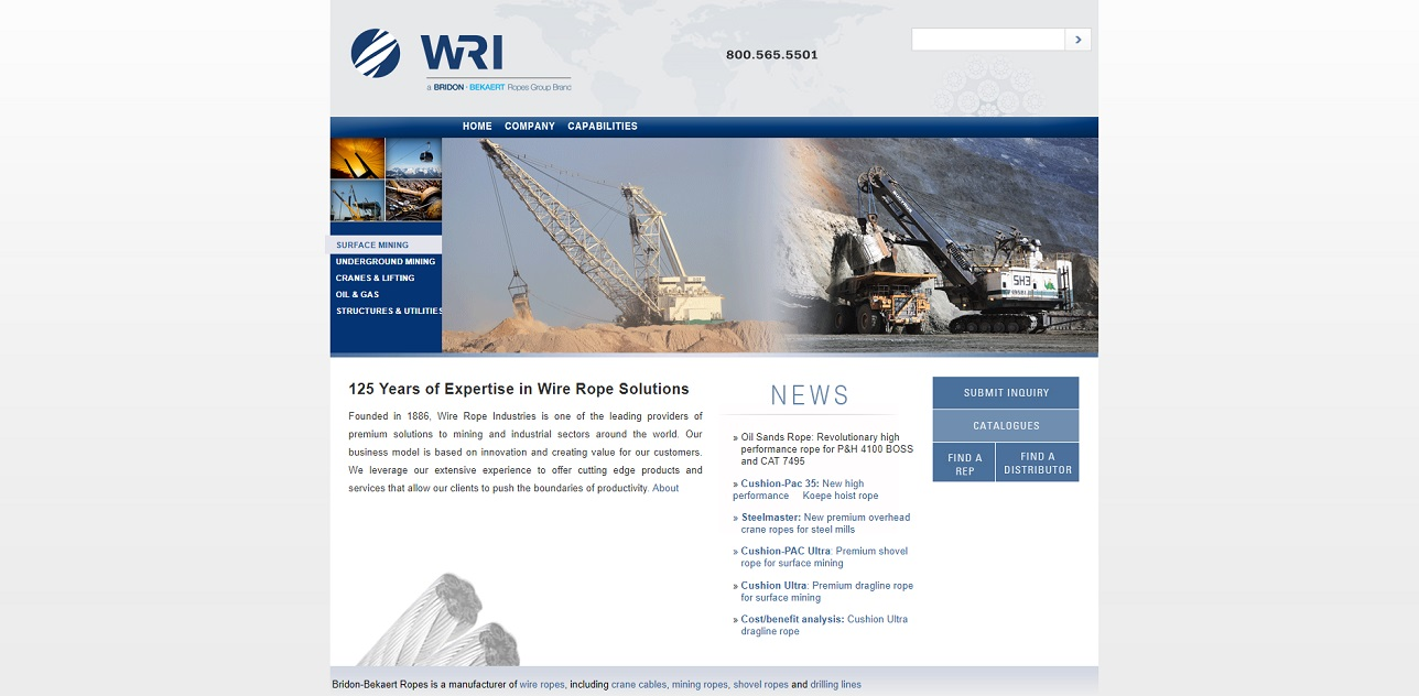 Wire Rope Industries, Ltd.