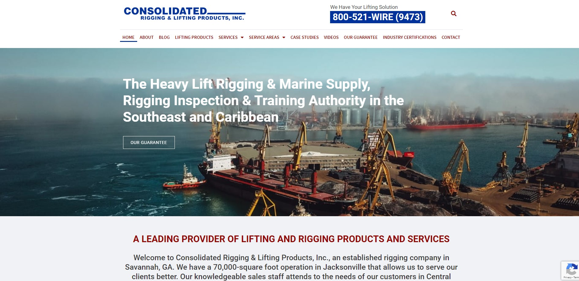 Consolidated Rigging & Marine Supply