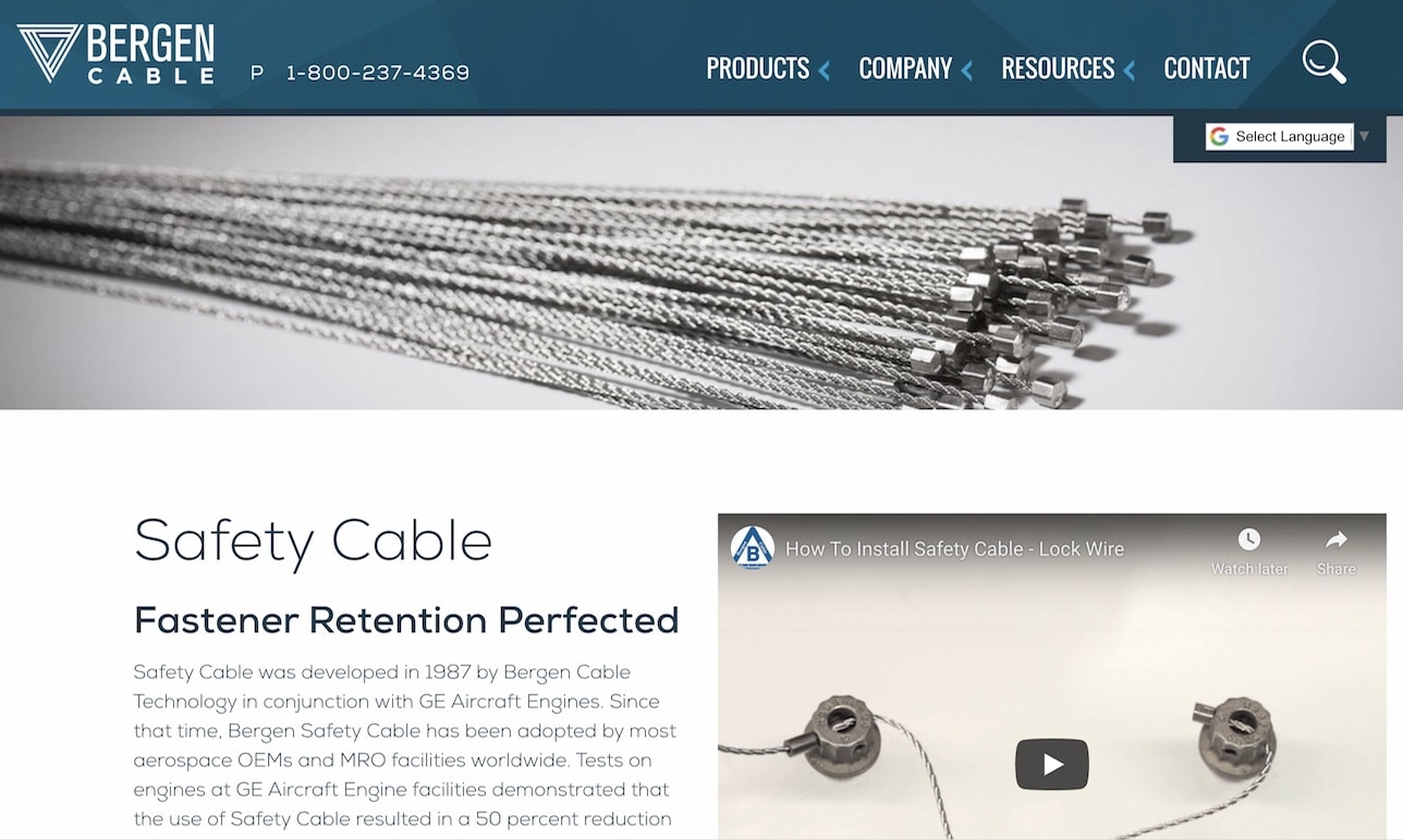 Bergen Cable Technology, Inc.