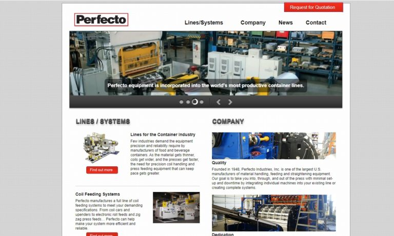 Perfecto Industries Inc.