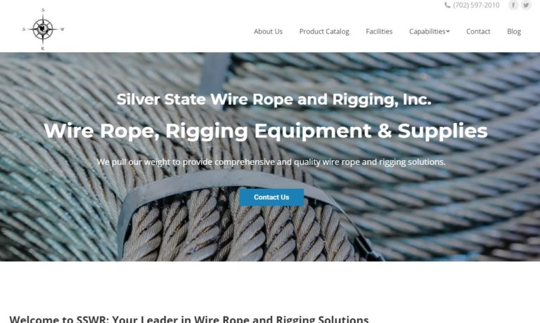 Silver State Wire Rope and Rigging